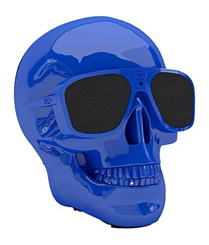 Jarre Technologies AeroSkull XS+ 45 W 2.1 Portable Speaker System Blau - Tragbare Lautsprecher (2.1 Kanäle, 2,79 cm, 4,57 cm, 45 W, 15 W, 15 W)