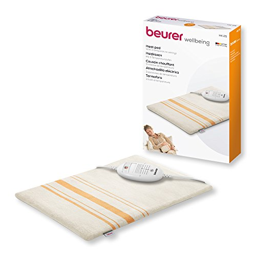Beurer HK25 Therapeutic Heat Pad with Removable &...
