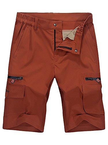 Mesinsefra Herren Cargo-Shorts, wasserabweisend, schnelltrocknend - - 46