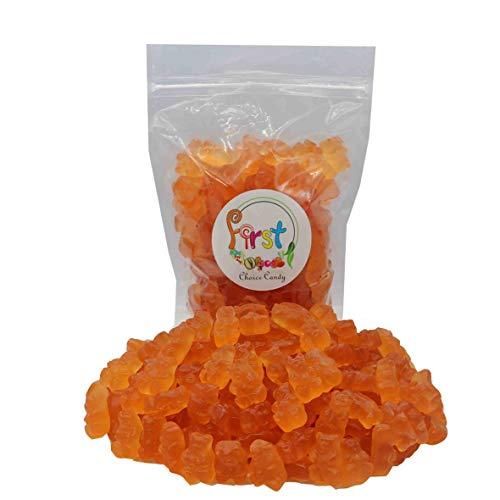 FirstChoiceCandy Albanese Gummy Bears (Pink Grapefruit, 1 LB)