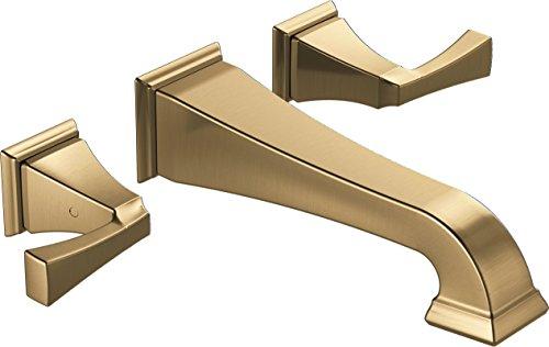 Delta Faucet T3551LF-CZWL Wall-Mount, Champagne Bronze