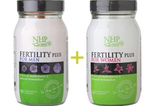 NHP Fertility Plus for Women & Men Nutritional Supplement