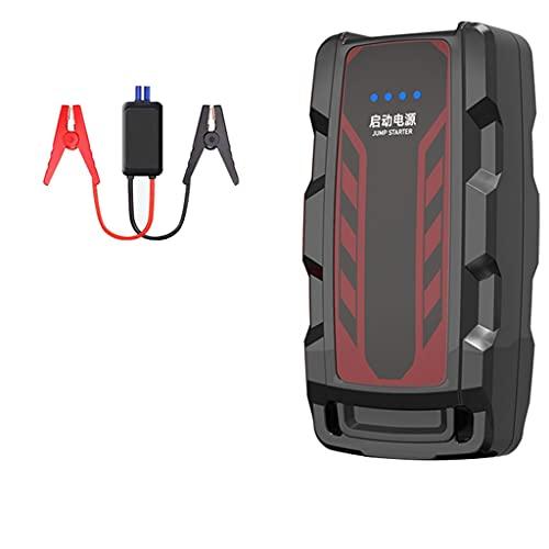 El arrancador de salto de automóviles es adecuado para 6.0l Coche de gasolina o 3.0l CAR DIESEL DIESEL 20000mAH Cargador de batería Móvil POTENCIA MÓVIL AUTOMÁTICO APRENDIENTE RÁPIDO POTENCIA DE EMERG
