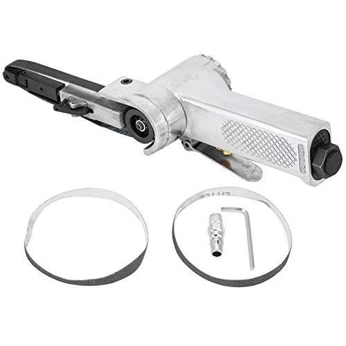 Mini Air Belt Sander Pneumatic, Mini Air Belt Grinder Industrial Belt Sander Machine Pneumatic Polishing Tool 16000rpm 10 * 330mm/20 * 520mm for Grinding Coating Polishing Chamfering(20 * 520mm)