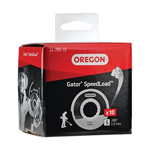 Oregon 24-280-10 Fil de coupe Gator SpeedLoad, 2,0 mm paquet de 10