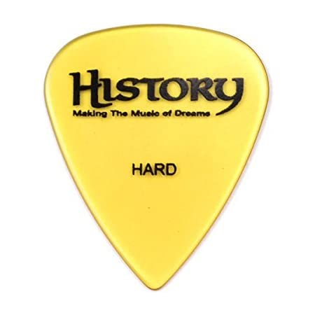 HISTORY HP2H HARD ピック 30枚セット ティアドロップ型 (ヒストリー)