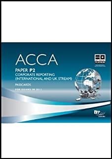 ACCA - P2 Corporate Reporting (INT): Paper P2: Passcards