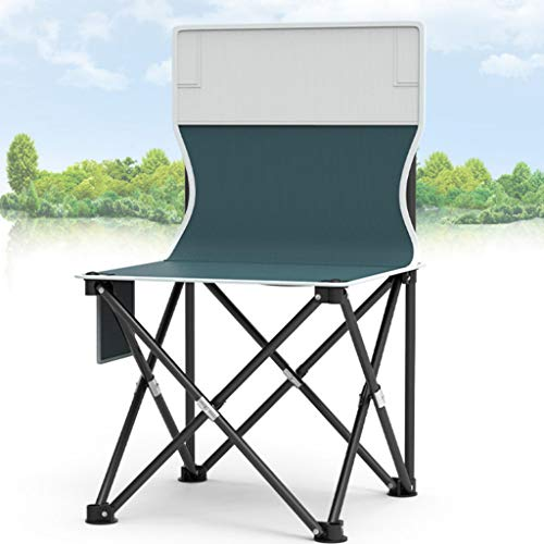 QLTY Portable Camping Chair,Outdoor Folding Chair,Garden Folding Chairs,Folding Backpacking Chairs,Fishing Chairs,for Outdoor,Camp,Picnic,Hiking (363660cm)
