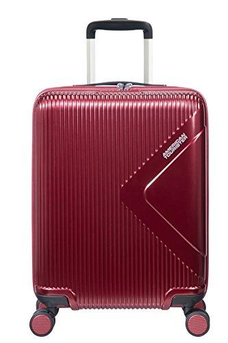 American Tourister Modern Dream - Spinner S Equipaje de mano, 55 cm, 35 L, Rojo (Wine Red)