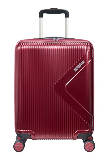 American Tourister Modern Dream - Spinner S Equipaje de mano, 55 cm, 35 L, Rojo (Wine Red)