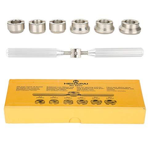 Watch Case Back Opener, Watch Repair Kit Tool Precision Hand Held Waterproof Watchmaker Screw Kit for Rolex