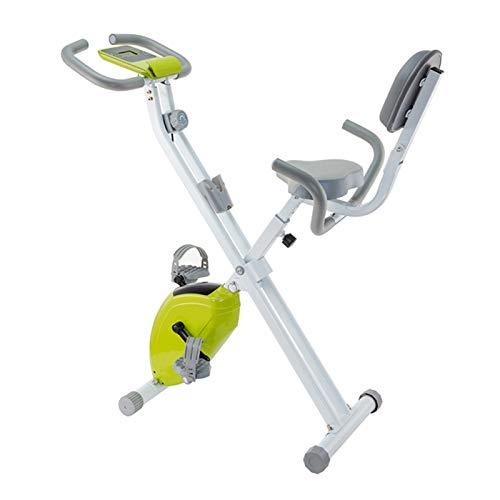 WSCQ Bicicleta de Ejercicio, Plegable Bicicleta Estática 8
