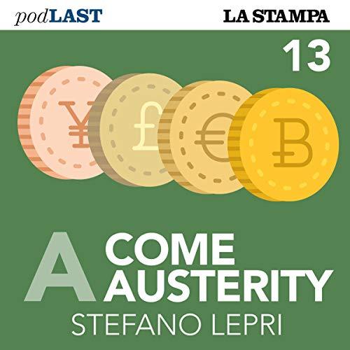 Neoliberismo (A come Austerity 13) copertina