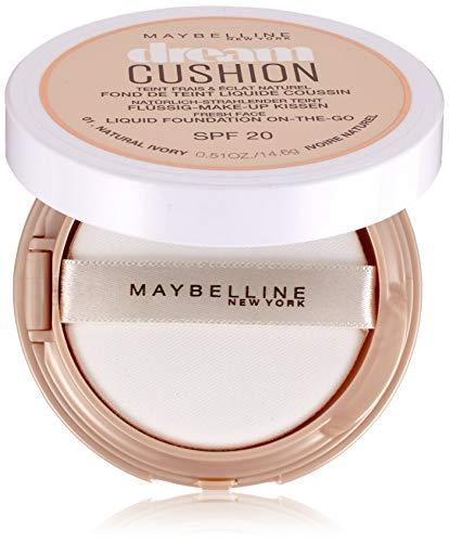 Maybelline Dream Cushion - Flüssige Foundation SPF 20, Natural Ivory No.01, 14.6 g