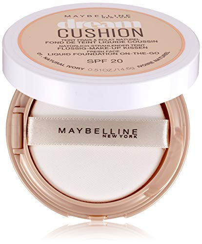 Maybelline Dream Cushion - Flüssige Foundation SPF 20, Natural Ivory No.01, 14.6 g
