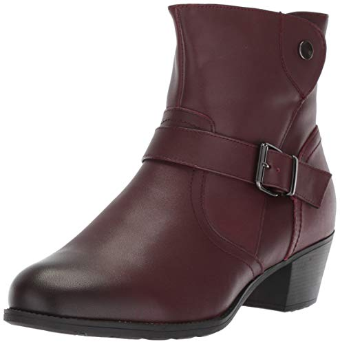 Propet Women's Tory Ankle Boot, Rich Burgundy, 7H 2E 2E US
