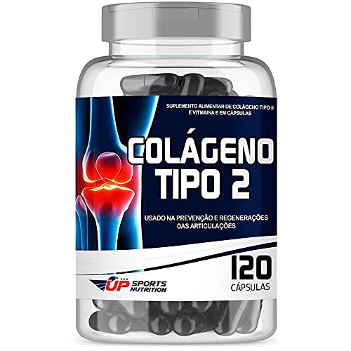 Colágeno Tipo 2 40mg com 120 cápsulas Contra Dor Articular