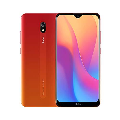 "Xiaomi Redmi 8A Smartphone, 2GB 32GB, 6,22"" Pantalla, Snapdargon 439 Octa Core, 5000mAh, 12MP AI Cámara Trasera, 8MP Cámara Frontal, Versión Global (Rojo)"
