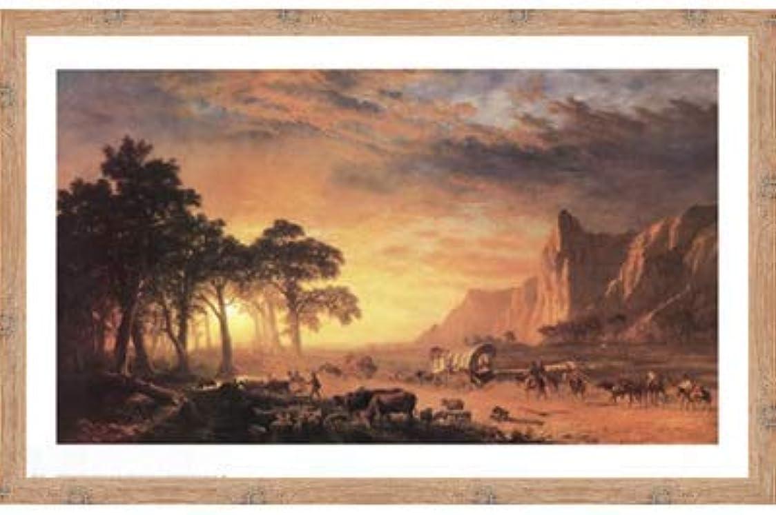 リングレットギャラリー引き出すOregon Trail, The by Albert Bierstadt?–?36?x 24インチ?–?アートプリントポスター 24 x 36 Inch LE_34237-F10902-36x24