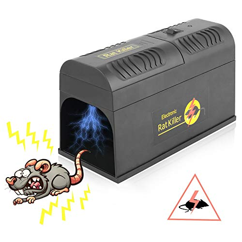 FORMIZON Electronic Rat Trap, Rodent Trap Electronic Mouse...