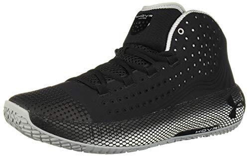 Under Armour Men's HOVR Havoc 2 Basketball Shoe, Black (002)/White, 10.5