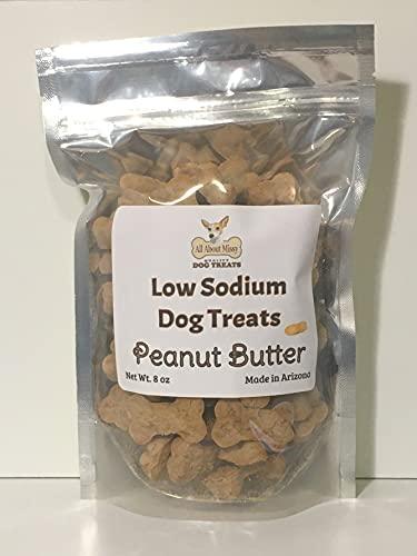 Low Sodium Dog Treats - Peanut Butter 8 oz.