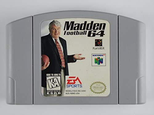 Madden Football 64 product image