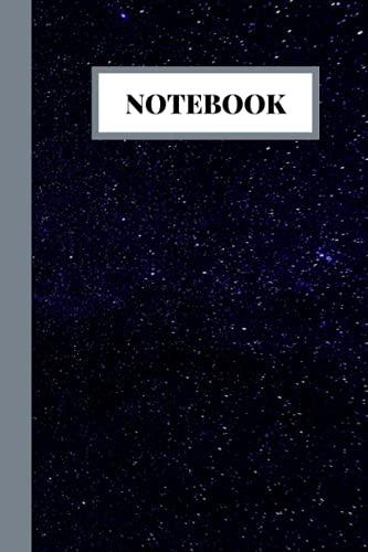 Cuaderno: El tema de la Galaxia Cuaderno-Colegio 120 páginas 6 x 9 pulgadas