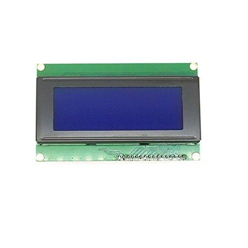 WINGONEER® IIC/I2C/TWI Serien 2004 20x4 LCD-Modul-Schild Blau Schwarzlicht für Arduino UNO Mega R3