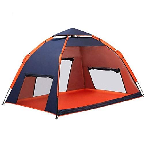 HUNOL Portable Tent, Pop Up Tent Foldable Camping Tent for 3-4People Picnic-A-200X200X118cm
