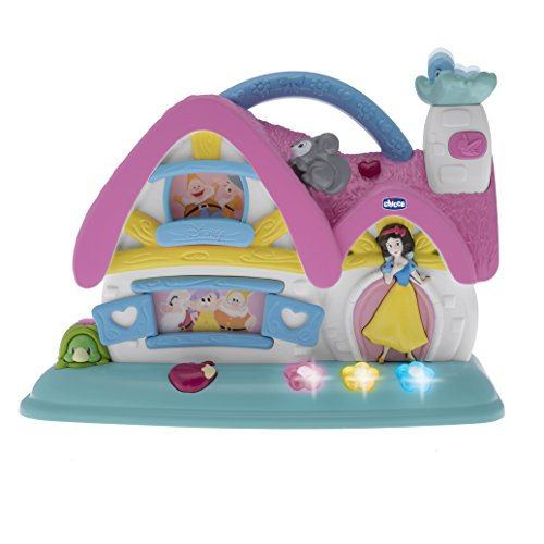 Chicco - Disney Princess Cottage Musicale Elettronico, Biancaneve e i 7 Nani, 7599