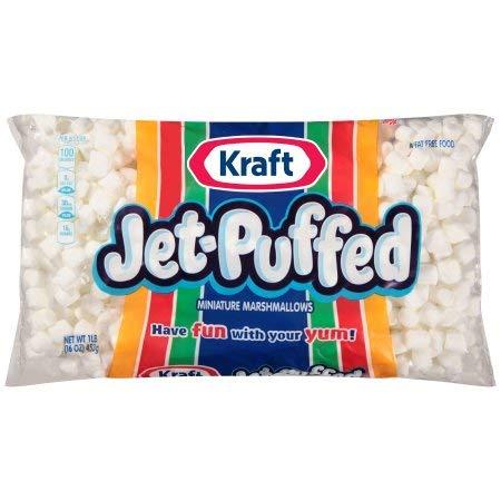 Kraft Jet-Puffed Mini Marshmallows (Pack of 2)