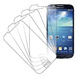 eTECH Collection 5 Pack of Crystal Clear Screen Protectors for SamsungGalaxy S4 / S IV /i9500