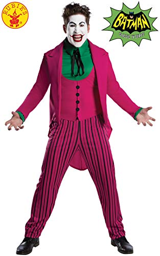 Rubie's-DC Comic The Joker 1966 Version Disfraz, multicolor, 111,76 cm-116,84 cm   (300541XL)