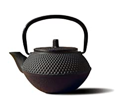 Old Dutch Cast Iron Saga Teapot black
