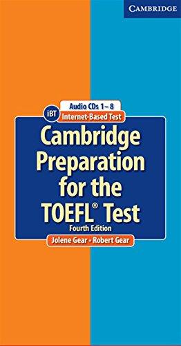 Cambridge Preparation for the TOEFL Test Audio CDs (8)