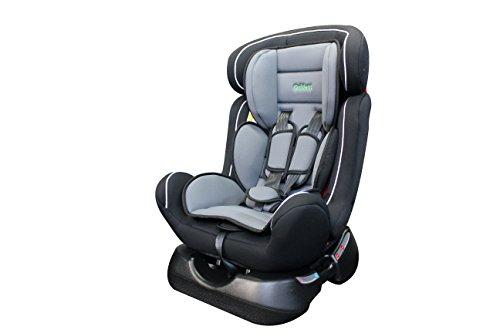 ORIDENT Auto Kindersitz BABYSCHALE BXS 0 bis 25 kg 0+I+II Gruppe-0+1+2 ECE 44-04 (Schwarz-Grau)
