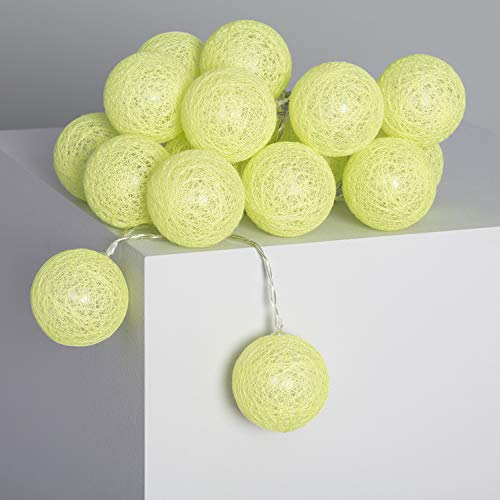 LEDKIA LIGHTING Guirlande 20 Boules LED Lemon Brancher