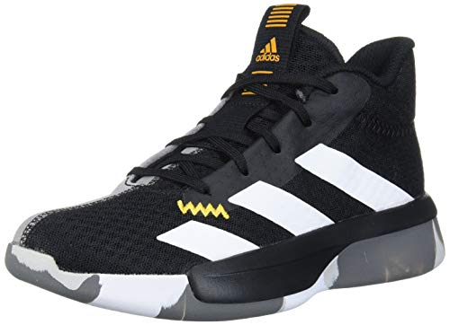 adidas Kids Unisex's Pro Next 2019 Basketball Shoe, core Black/ftwr white/active Gold, 12K Standard US Width US Toddler