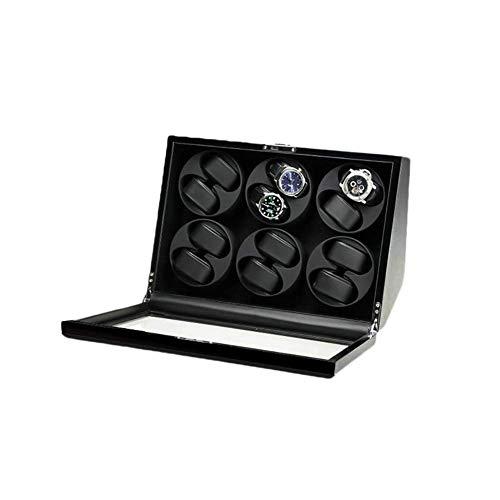 XUSHEN-HU Mira Las devanaderas automáticas Winder con Caja de presentación Japonesa Mabuchi Motor Caso WB009