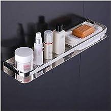 AINIYF Bathroom Shelf Floating Wall Mounted, Bathroom Organizer Display Picture Ledge Shelf for Home Decor/Kitchen/Bathroo...