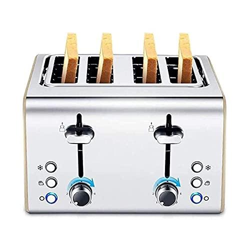Toaster Frühstücksbrotmaschine Automatische Brotmacher programmierbare Brotmaschine mit Glutenfreie Sitzenanzeige visuelles Menü