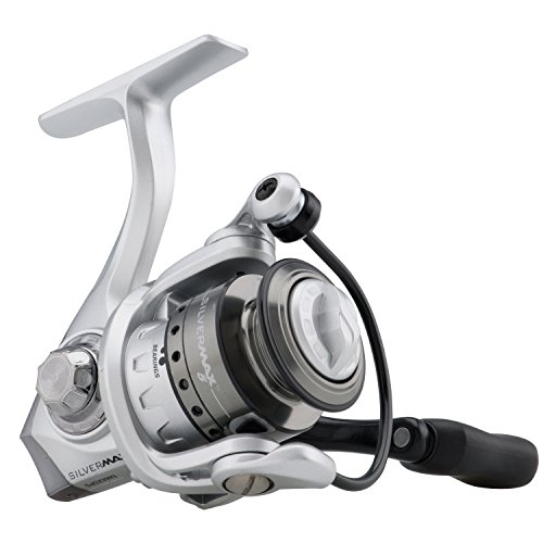 ABU GARCIA Silver Max Spinning Reel with 40 5.1:1 Gear Ratio 6 Bearings 29