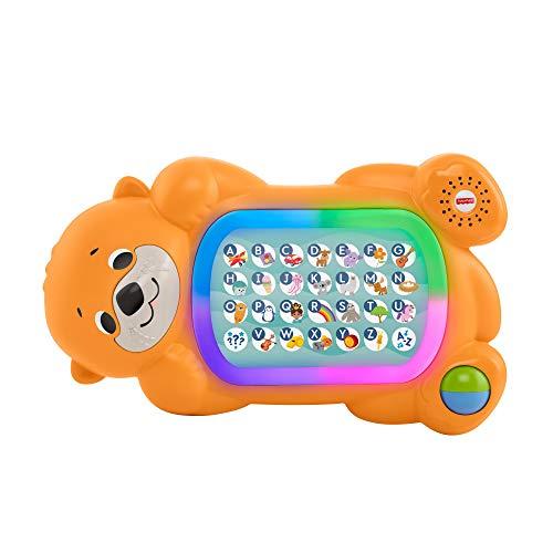 Fisher-Price - GJB01 BlinkiLinkis Otter, deutschsprachig, interaktives Lernspielzeug ab 9 Monaten