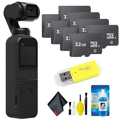DJI Osmo Pocket Gimbal + Essential Accessories + 256GB Memory Card