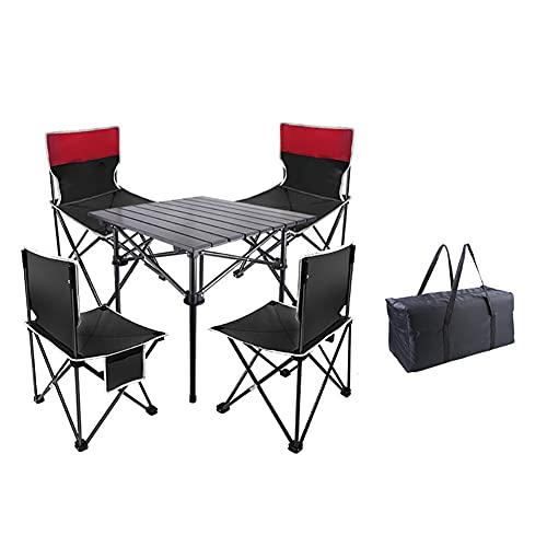 Silla de campamento Mesa de camping plegable con sillas - Sillas de...