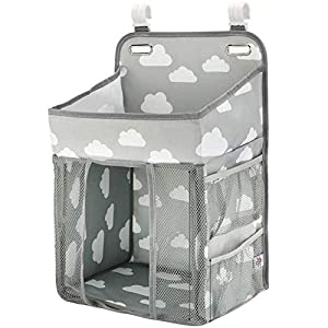 Nappy Organisers-Baby Diaper Caddy Organizer Nappy Caddy Newborn Nappies Nappy Organiser Diaper Organiser Caddy Storage Stacker for Table Crib Wall Hanging Changing Nappy