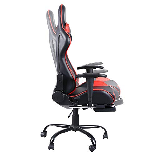 Gaming Chair with Footrest Game Chairs for Adults&Teens Racing Chair for...