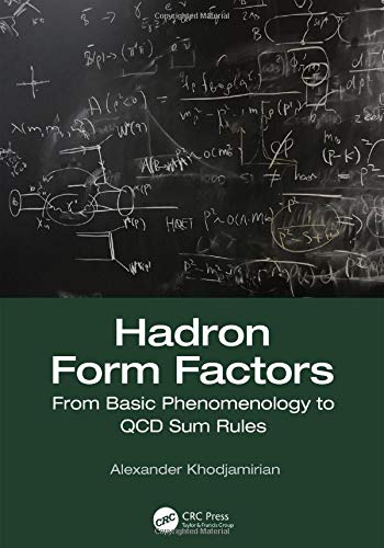 Hadron Form Factors: From Basic Phenomenology to QCD Sum Rules