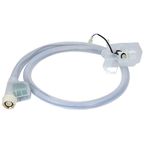 Kenekos - Manguera compatible con lavadora Bosch/Siemens. Manguera de entrada como 00704767/704767. Manguera de seguridad con rosca de 3/4 pulgadas (conexión doméstica).